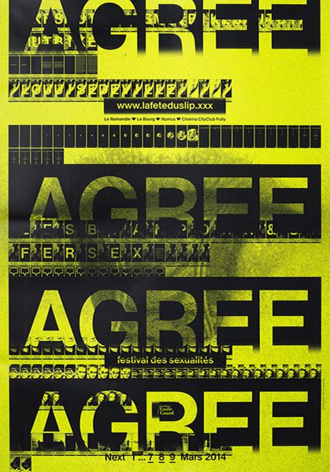 La Fête du Slip, Emmanuel Crivelli, Agree, Disagree, Dual Room