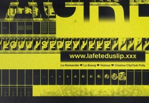 La Fête du Slip, xxx, Emmanuel Crivelli, David Berguglia, Dualroom, Dual Room