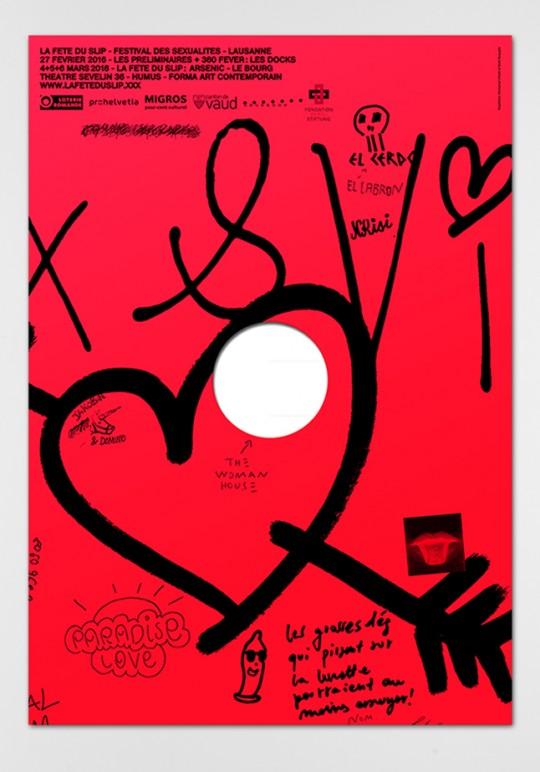 Dual Room, Emmanuel Crivelli, La Fête du Slip, Glory home, poster