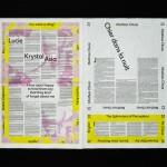 Emmanuel Crivelli, Dual Room, Lucie Blush, POV paper